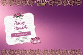 shower invitation templates girl baby shower invitation template postermywall
