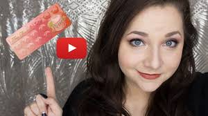 first you video everyday makeup tutorial featuring the toofaced sweet peach pallete