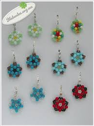 Beaded Earring Patterns For Beginners