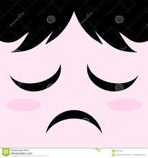 Expression Design Download Sad Expression Design Stock Vector Illustration Of Kawaii