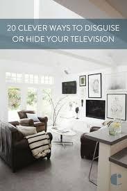 Hide your tv Bookcase 20 Ways To Create Hidden Tv Osterwedeclub Hidden Tv Tricks 20 Ways To Decorate Around Or Disguise Your Tv