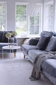 cosy living room with a mist blue grey