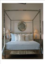 Regency Mirrored Canopy Bed The Mirrored Bed Company | Antique with ...