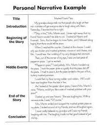 Personal Narrative Essay Sample Personal Narrative Writing