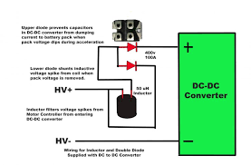 entire ev wiring diagram questions comments page 6 diy here is what evtv says the inductor is for inductor filters voltage spikes from the motor controller from entering dc dc converter