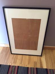 ikea ribba frame in black 70cm x 100cm only 5