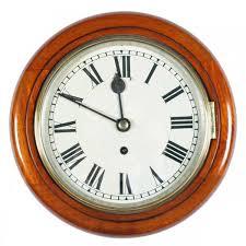 8 dial fusee wall clock