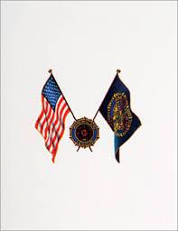 Cards American Legion Flag Emblem