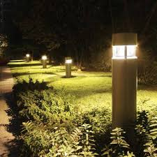 solar powered post lights yard exterior light post fixtures designers fountain led34036 bnb englewood modern burnished bronze