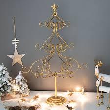 Metal Ornament Tree Display Stand Uk Amazing Tall Folding Gold Metal Christmas Tree Display Stand Ornament
