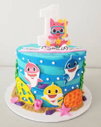 Baby Shark Cake Design Cakes Tennessee Sugarlips Bakery Llc