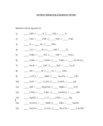 free balancing equations chemical reactions worksheet unit 7 2 key chemistry 6th grade worksheets balance bio