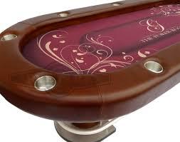 custom poker tables. Custom Poker Table -Raised Rail, Leather Rail Upholstery Tables