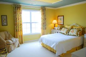 Lime Green Bedroom Curtains Bedroom Yellow Wall Room Color Plus Glass Windows And Long
