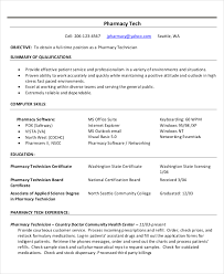 technician resume. Technician Resume Template 8 Free Word PDF Documents Download