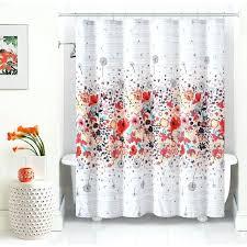 college shower curtains magnolia vibrant fl shower curtain ping the best deals on college shower curtain college shower curtains