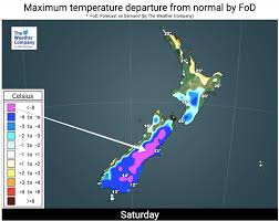 Weather forecast accurate to a district level. Boxing Day Gets Even Colder Over 8 Degrees Below Normal Inland Frosts Actually Possible 4 Maps Weatherwatch New Zealand S Weather News Authority