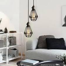 Office pendant light Simple Image Is Loading Vintagependantlightkitchenledlampbaroffice Ebay Vintage Pendant Light Kitchen Led Lamp Bar Office Ceiling Lamp