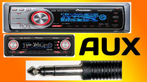 � how to setup the aux input for a pioneer deh p5800mp � youtube Remote Pioneer Deh P77DH Pioneer Car Audio Wiring Deh P77dh #38
