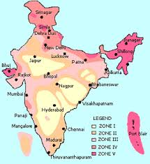 Also, such maps are used or looked before the construction of high rise building so as to check the level of seismology in any particular area. Major Areas Disaster Managment Earthquake