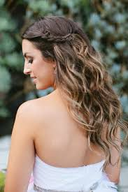 Coiffure Cheveux Ondulés Mariage