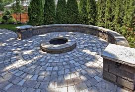 paver patio with fire pit. Gorgeous Paver Patio With Fire Pit Ideas Home Design Pictures Remodel P