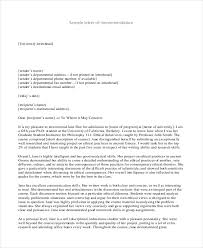 Free 10 Sample Recommendation Letter For Students In Pdf Doc