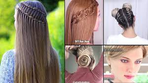 best 30 diy hairstyles you can do at home easy hairstyles step by step 9