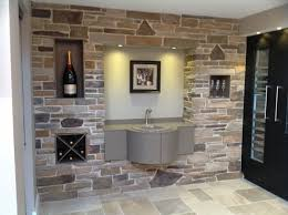 Small Picture Appealing Family Room Interior Design With Stone Wall Cladding