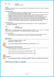 example of a good cv finance and accounting cv page 2 cv template
