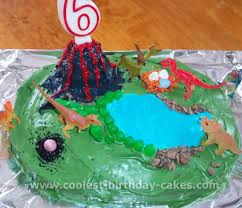 Kids Birthday Cake Ideas Dinosaur Birthday Cake Photosegotv