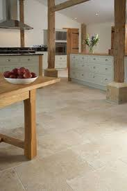 Travertine Kitchen Floors Kitchen Floor Tiles Travertine In Country Barn Kitchen Different