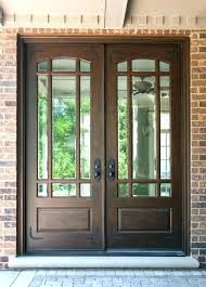 wooden front doors wood front doors home door entry narrow french exterior wooden with glass