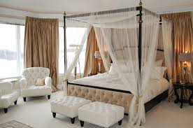 Incredible Ideas Canopy Bed With Curtains Lofty For Color Elegance