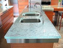diy glass countertop recycled glass s concrete