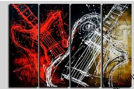 red guitar canvas wall art sample white wallpaper picture multi panel personalized popular types on guitar canvas wall art red with wall art designs painting on guitar canvas wall art hanging bass
