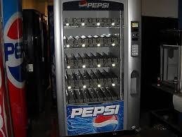 Vending Machine Codes Pepsi New VENDO VUE 48 Glass Front Soda Vending Machine PepsiCoke Refurbished