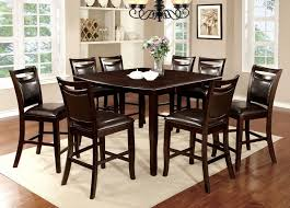 table with 8 chairs woodside ii collection
