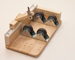 picture of easy glass bottle cutter made up of common parts updated
