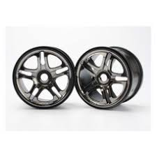 Wheels, <b>SS</b> (<b>split</b> spoke) 3.8'' (black chrome) (2) (use with 17mm ...