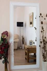 white leaning floor mirror. Furniture White Frame Leaner Mirror With Floor Lamp And Side Luxury For Home Accessories Ideas. Leaning