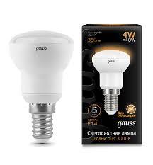 <b>Лампа Gauss</b> LED <b>Reflector</b> R39 E14 4W 2700K - Gauss ...