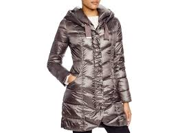 Lyst - T tahari Giselle Quilted Down Coat in Purple & Gallery. Previously sold at: Bloomingdale's · Women's Quilted Coats Adamdwight.com