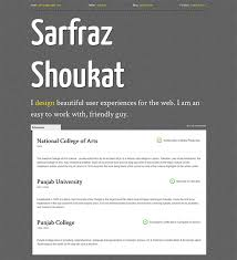 28 Free Cv Resume Templates ( Html Psd & Indesign )   Web & Graphic ...