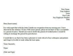 simple resignation letter word doc  seangarrette coformal resignation letter example for nurses   simple resignation letter word doc sample