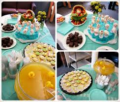Baby Shower Food Table Decoration  Graduation Celebration Ideas What To Serve At Baby Shower
