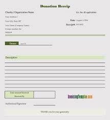45 Free Donation Receipt Templates Formats Docx Pdf