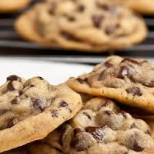 gooey chewy chocolate chip cookies. Plain Gooey Chewy Chocolate Chip Biscuits On Gooey Cookies H