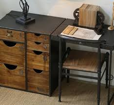 L Folding Desk LOFT Industrial Wind Mash Office Iron Tables To Do The  Old Retro Wood