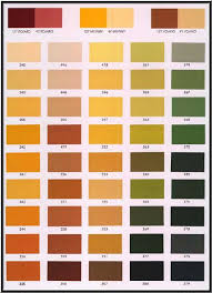 Stucco Colors Chart Color Charts Palettes And Pigments
